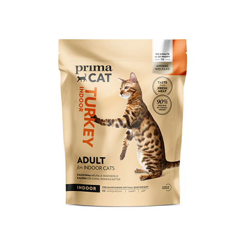 Specialprodukten: Prima Cat Adult Indoor Kalkon